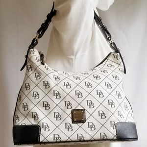 XL Dooney&Bourke Signature Shoulder